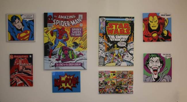 Comic Book Canvas