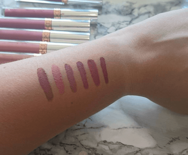 Anastasia beverly hills liquid lipsticks