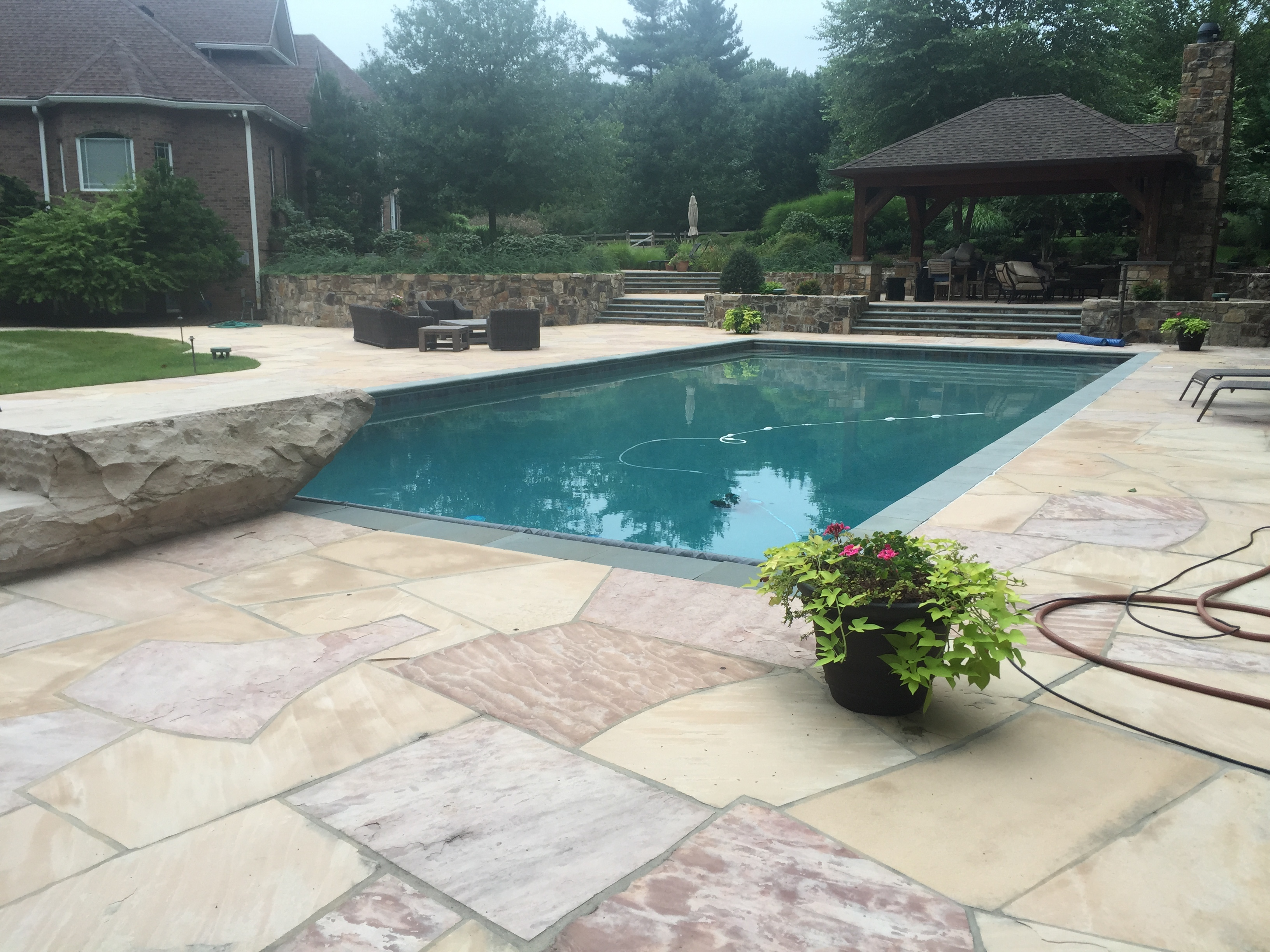 2016 pool design trends to inspire your new howard county pool for Pool design trends 2016