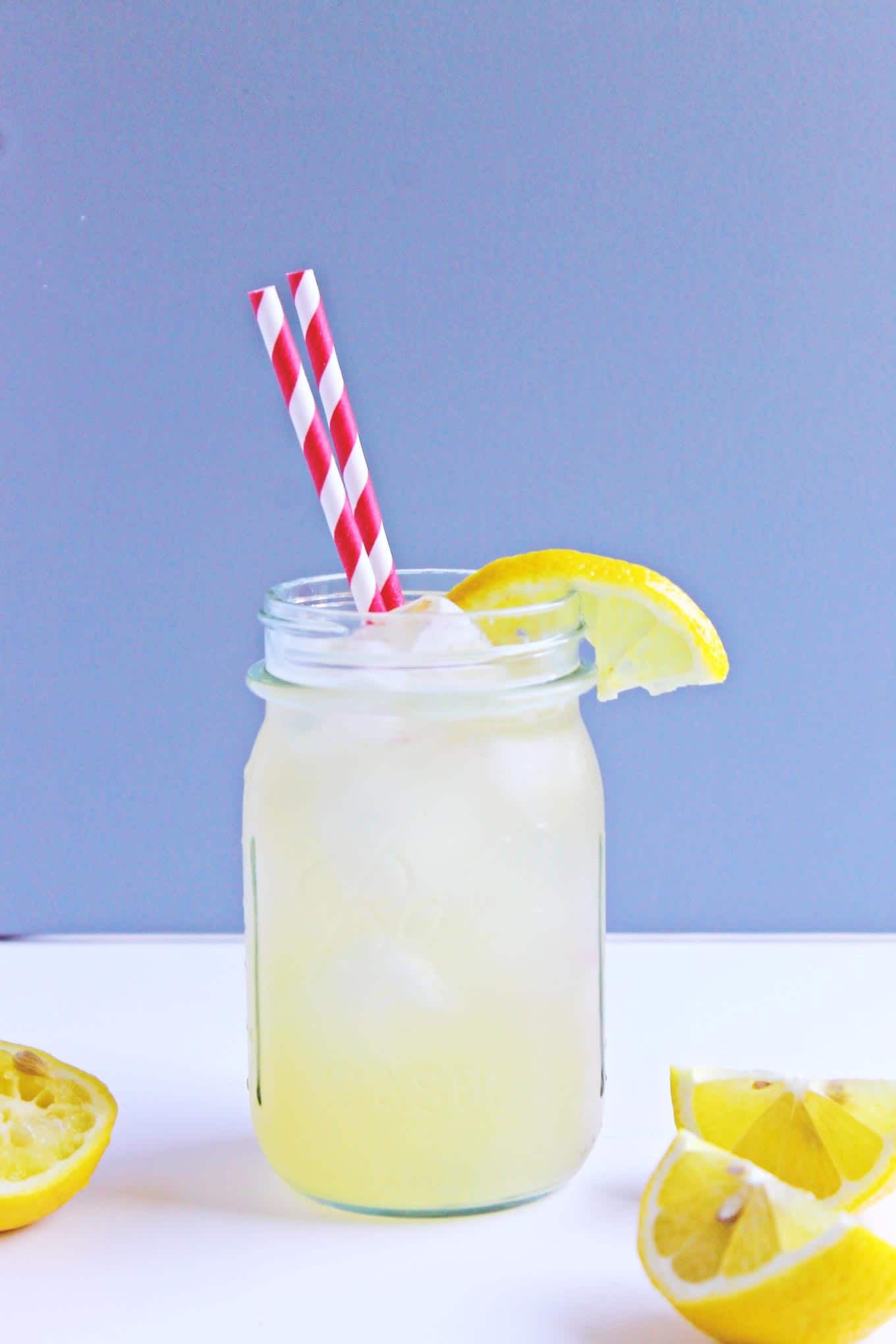 Sparkling honey roasted lemonade! A truly unique recipe to get the BEST flavor out of those fresh lemons! Refreshing and delicious, and refined sugar-free. The best lemonade!!