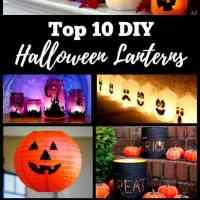 Top 10 DIY Halloween Lanterns