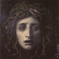 """Immagine del dipinto """"Medusa"""" di Arnold Böcklin (1878 circa)."""