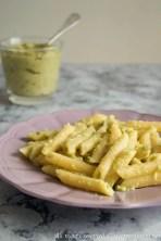 Pasta con crema di zucchine bimby