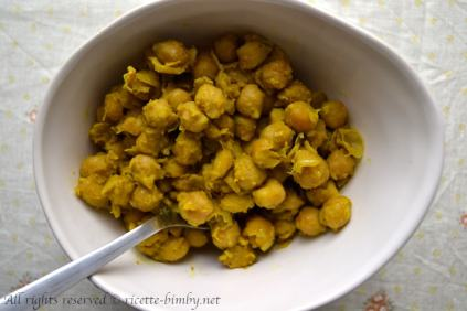 Curry di ceci bimby 1
