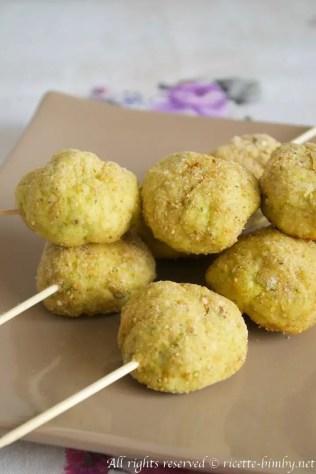 Polpette di pollo e zucchine bimby