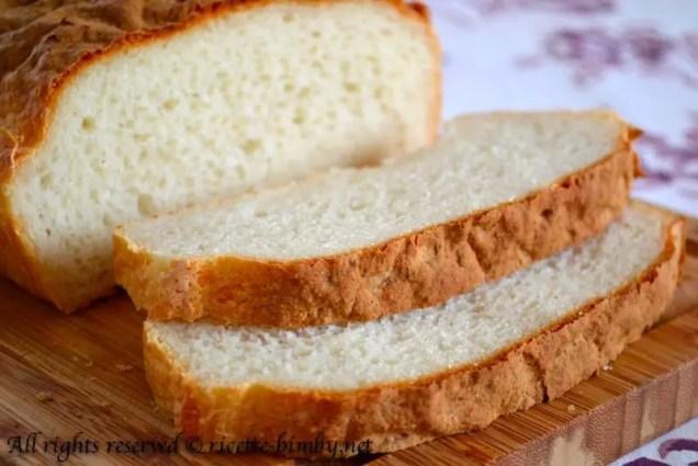 Pane in cassetta senza glutine bimby 4