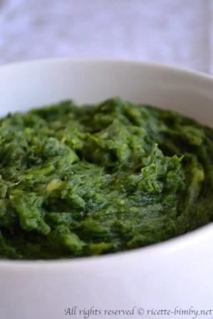 Purè di spinaci bimby 3