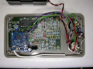 PIC miocrocontroller/XRF dual dallas 18B20 control box