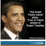 What's Haaretz's Rosner Have Against Obama?