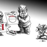 Neyestani on Bibi and Ahmadinejad, Moral Cretins