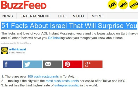 buzzfeed hasbara rethink israel
