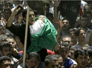 infant victim at gaza funeral