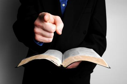 preacher-bible-finger-xsmall