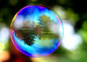 bubble-reflection