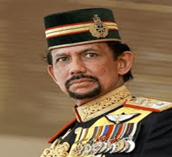 Brunei Prince Hassanal Bolkiah.....