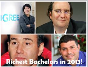 richest bachelors
