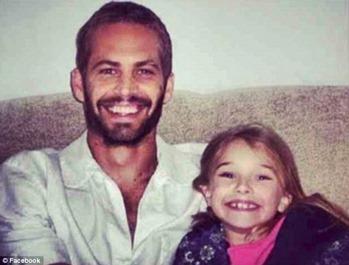 paul walker and his daughter meadow rain