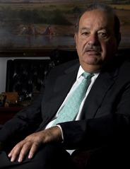 Carlos Slim Helu got rich after working hard