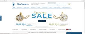 Blue Stone.com Indian jewelry website