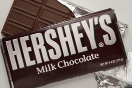 Hershey Chocolate Bar best selling chocolate