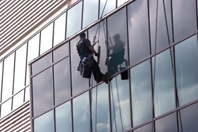 High-Rise Window Washer scariest job