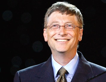 Bill-Gates business tycoon from th IT industry