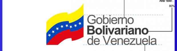 Logotipo del Gobierno Bolivariano de Venezuela no cumple normativas de libertad