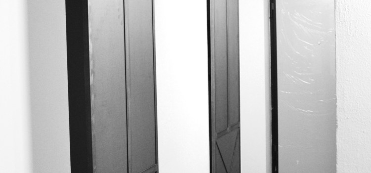 Stile industrial : porte scorrevoli in ferro
