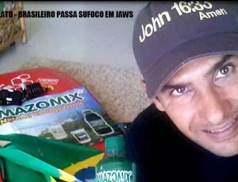 Brasileiro passa sufoco em Jaws