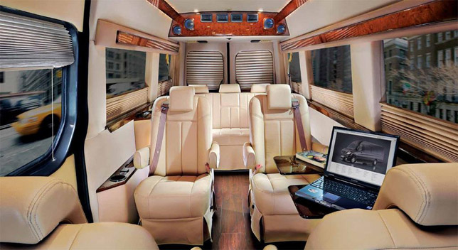 cars rides mercedes-benz sprinter grand edition