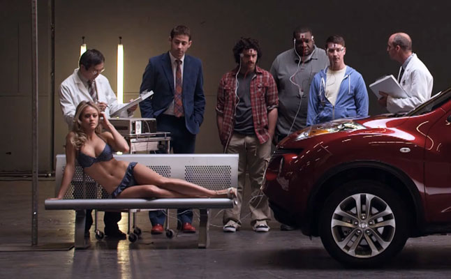 rides cars Nissan-Juke-Sports-Illustrated-curb-appeal-swimsuit