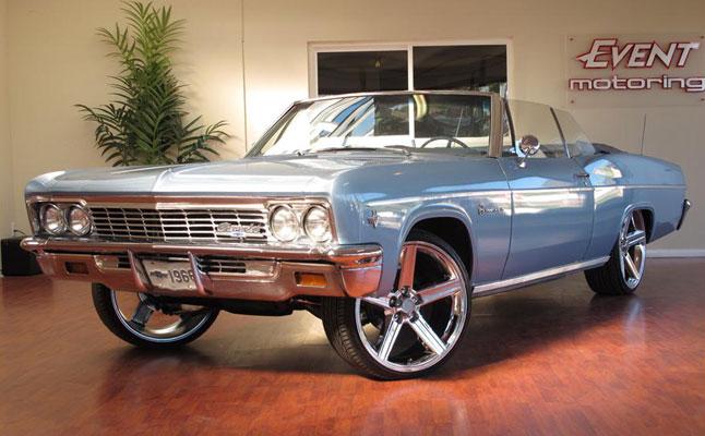 rides cars 1966 chevy impala