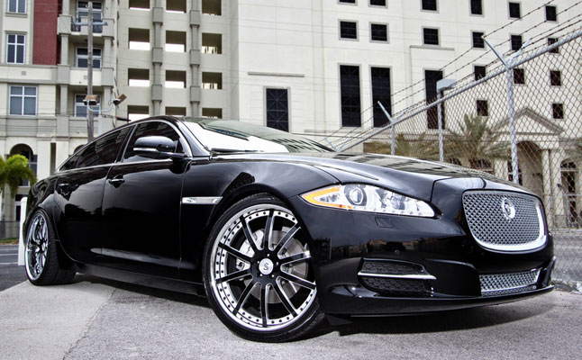 rides cars jaguar xj strasse wheels rims miami