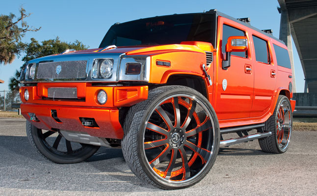 rides cars hummer-h2-on-32s derrick harvey