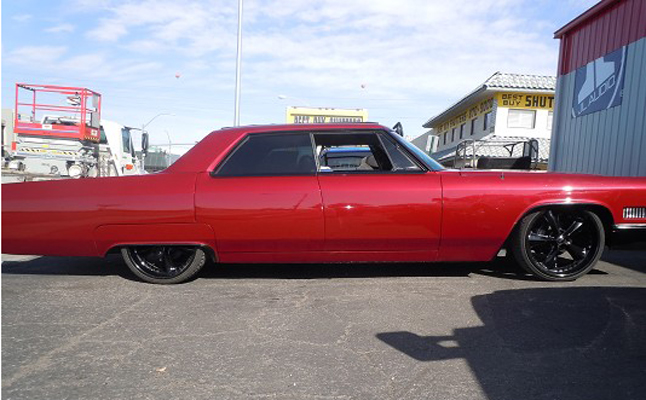 1966, Cadillac, Deville, Custom, Rides