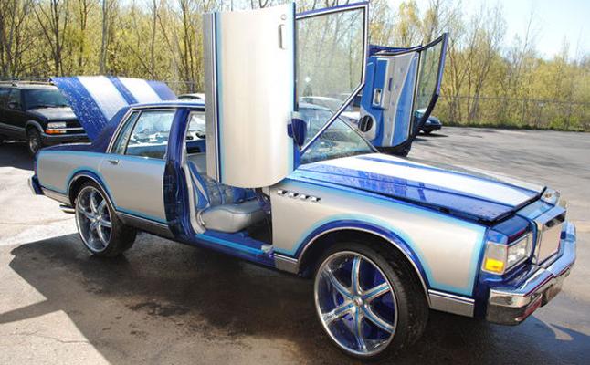 Chevrolet, Chevy, Caprice, Box, Custom, Rides