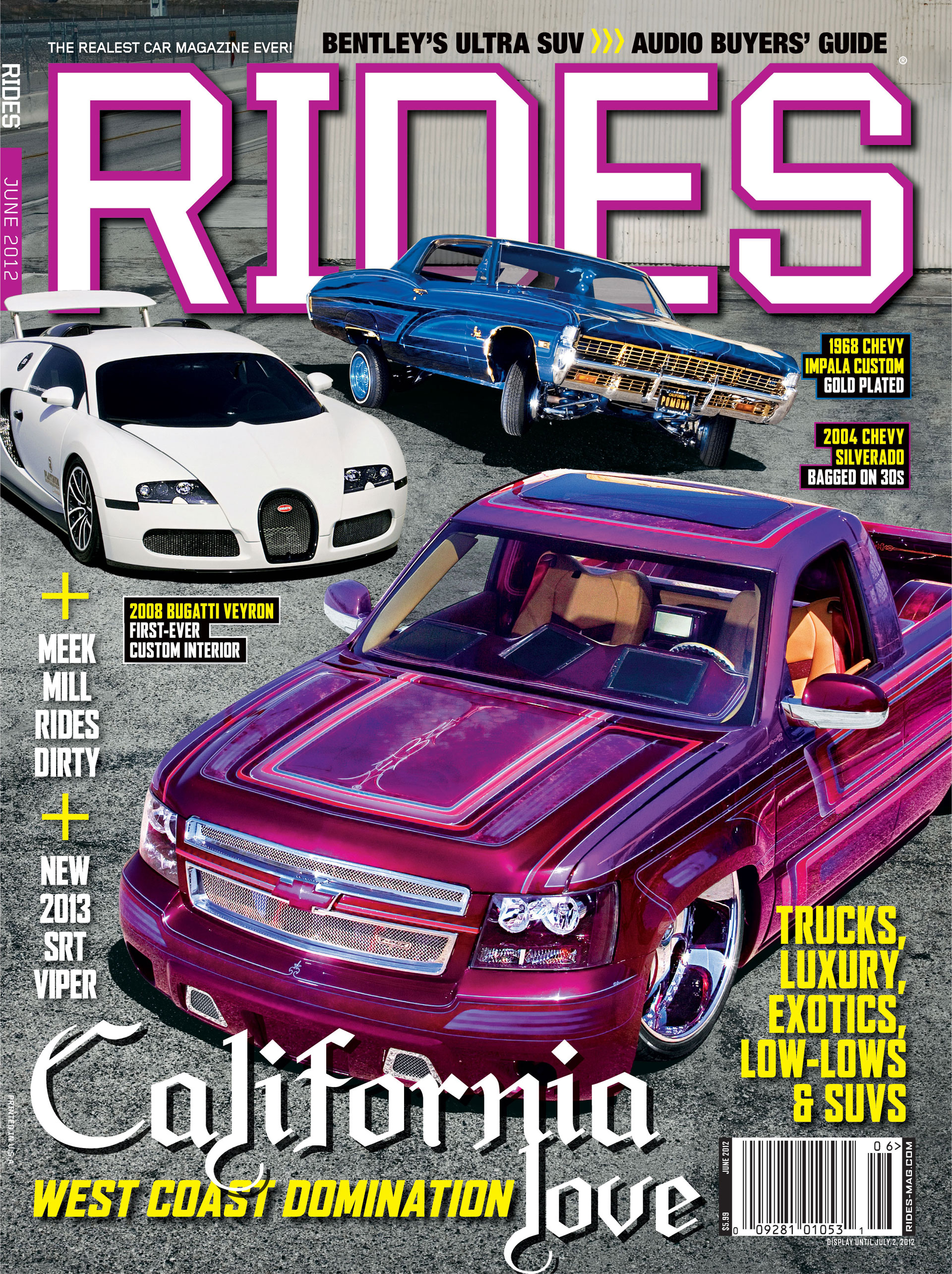 rides cars june 2012 cover issue 55