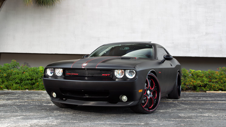 2009, Dodge, Challenger, SRT8, Custom, Rides