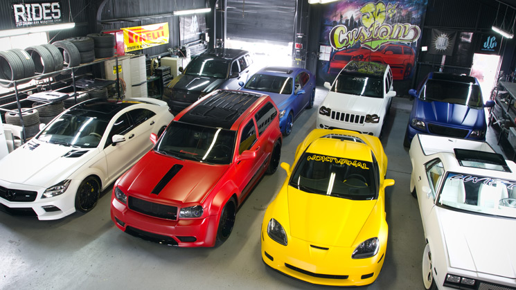 Rides, JC Customs, Chevy, Chevrolet, Jeep, Mercedes, Benz