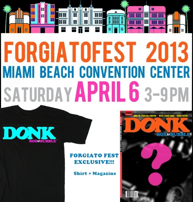 forgiatofest donk box and bubble 2013 t shirt featured