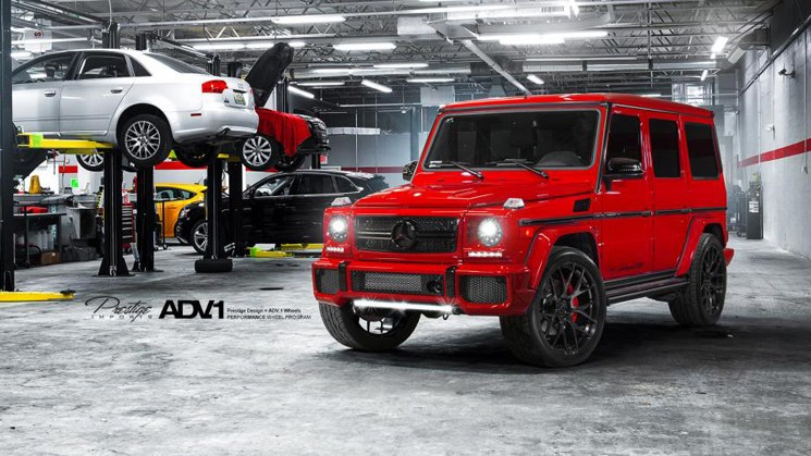 mercedes benz GLK g63 adv7 6 featured image