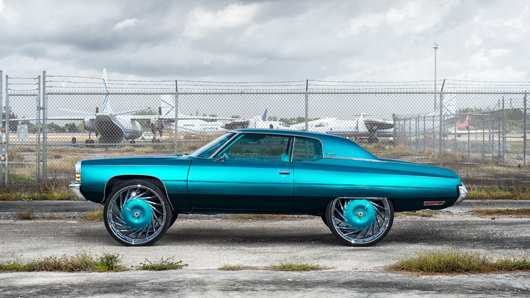 #Donk-Teal-Chevy-1