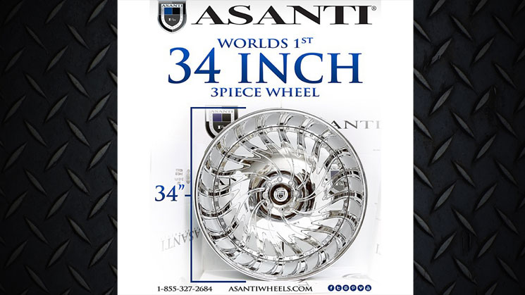 rides asanti world's first 34-inch 3-piece wheel af184 biscayne