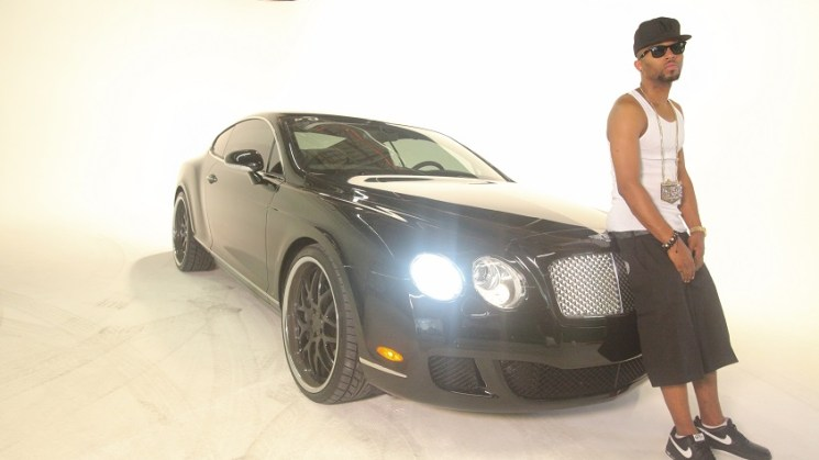 drumma boy bentley continental gt rides magazine drum squad