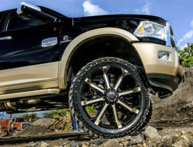 26-Inch All-Terrain Wheels And Tires By TUFF A.T. - Rides ...