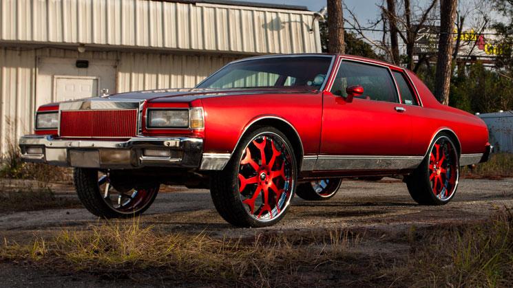 kent's automotive waycross georgia rides magazine box chevy chevrolet caprice classic forgiato candy paint