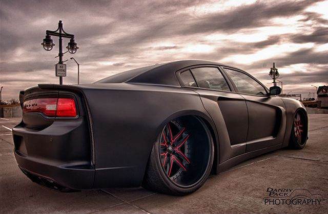 matte+black+widebody+2011+charger+for+Sale+123