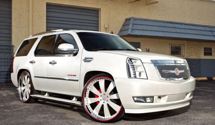 2010, Cadillac, Escalade, Strut, Forgiato, Rides