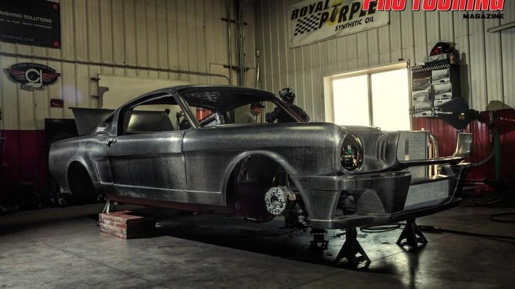 Carbon Fiber Mustang 16