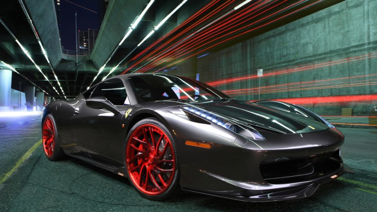 Ferrari-458-Italia-Savini-Wheels-Savini-Forged-SV62-Brushed-Red-PSM-2